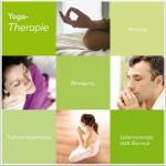 Yoga-Therapie: Flyer Titelseite.