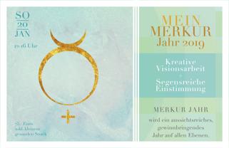 Mein Merkur-Jahr 2019 @ Programmhaus Frankfurt