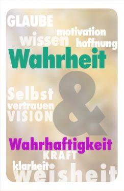 Seminar Wahrheit und Wahrhaftigkeit @ Programmhaus Frankfurt
