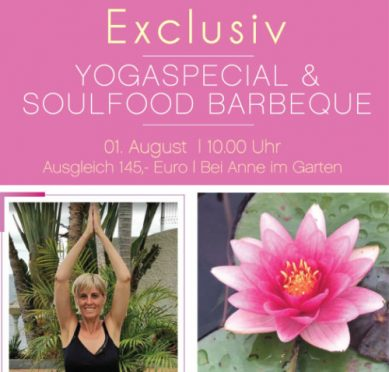 Yogaspecial & Soulfood Barbeque @ Bei Anne im Garten